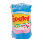 Soaky Sponges 5ea