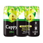 CAPPY FRUIT JUICE WHITE GRAPE 330ML x 6