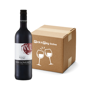 Van Loveren Africa Java Pinotage 750ml  x 6