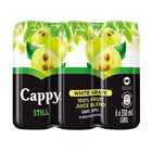 CAPPY FRUIT JUICE WHITE GRAPE 330ML x 6
