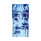 Real Home Beach Towel Print 86x160cm