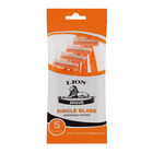 Lion Disposable Razor Single Edge 5