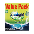 Sunlight Dishwashing Tablet Regular 56ea