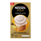 Nescafe Gold Vanilla Latte Sachets 10s