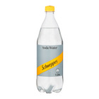 Schweppes Soda Water Plastic Bottle 1l