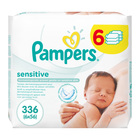 Pampers Baby Wipes Refill Sensations 4+2 Free