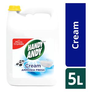 Handy Andy Ammonia Multipurpose Cleaning Cream 5l