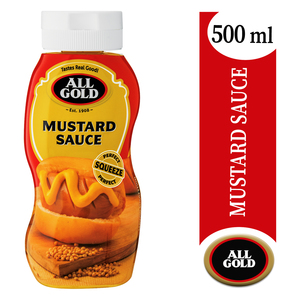 All Gold Mustard Squeeze Sauce 500ml