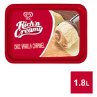 Ola Chocolate, Vanilla & Caramel Ice Cream 1.8l