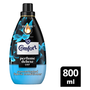 Comfort Perfume Deluxe Lily Concentrated Fabric Conditioner 800ml
