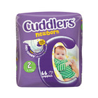 Cuddlers Newborn Diapers Size 2 66s