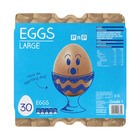 No Name Large Eggs 30s