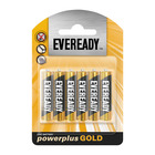 Eveready P/plus Gold Batteries Aaa 6ea