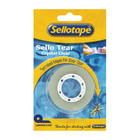 Sellotape Tear Clear 18mm x 25mm