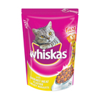 Whiskas Croquettes Dry Cat Food Meat Flavour 1kg