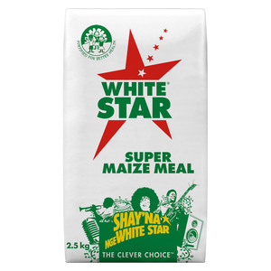 White Star Maize Meal Super 2.5kg
