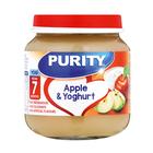 PURITY Jar Apple & Yoghurt 125ml from 7 Months x 6