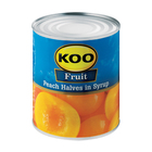 Koo Choice Grade Peach Halves 825g