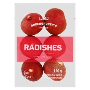 PnP Radishes 150g