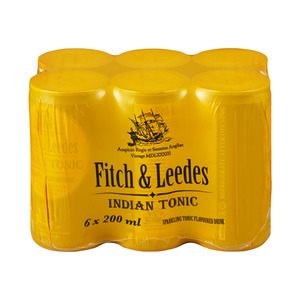 Fitch & Leedes Indian Tonic 200ml x 6