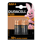 Duracell Plus Power AAA 6 Pack