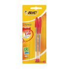 Bic Red Crystal Ballpen 2ea
