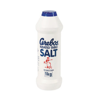 Cerebos Iodated Table Salt F lask 1kg