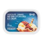 PnP Chocolate Caramel Vanilla Flavoured Ice Cream 2l