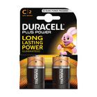 Duracell Batteries Plus Power Size C 2s