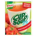 Knorr Cup-A-Soup Lite Tomato & Roasted Pepper 4s