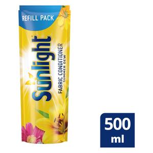 Sunlight Summer Dew Fabric Softener Refill 500ml