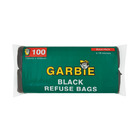 Garbie Refuse Bags Black 100s 750mm x 950mm
