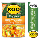 Koo Mixed Vegetable Curry 420g