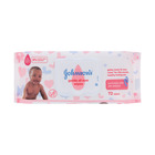 JOHNSON'S BABY WIPES GNTLE ALL OVER 72EA