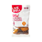 PnP Live Well Raw Almonds & Raisins 30g