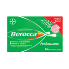 Berocca Multi Vitamin Effervescent  Tablets Tropical 20 Pack