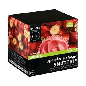 Kauai Smoothie Strawberry Stinger 640g