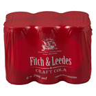 Fitch&Leedes Craft Cola 200ml x 6 CANS