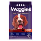 Waggies Senior Beef Stew 8kg