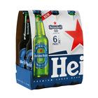 Heineken Lager 0.0% Non-Alcoholic 330ml x 6
