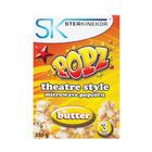 Popz Microwave Popcorn Butter 3ea