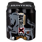 Hunters Extreme Bold Cider 440ml x 4