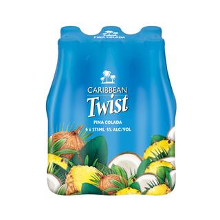 Caribbean Twist Pina Colada  275 ml x 6