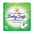Baby Soft Aloe Vera 2 Ply 4s