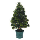 Santa's Village Tree Fibre Optic 60cm