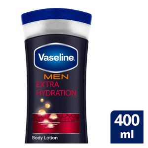 Vaseline Men Extra Strength Repairing Moisture Body Lotion 400ml