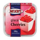 Moir's Red Glazed Cherries 100g