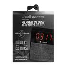 Volkano Fabric Bluetooth Alarm Clock