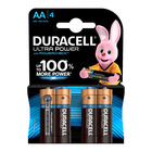 Duracell Alkaline Batteries Ultra Power AA 4s
