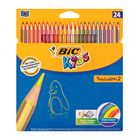 BIC Kids Tropicolour Color Pencils 24ea